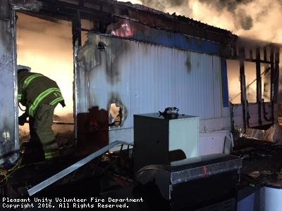 Trailer Fire Assist in Marguerite VFD Fire District