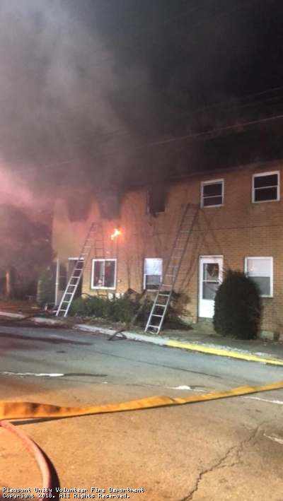 Structure Fire Call in Youngstown Area