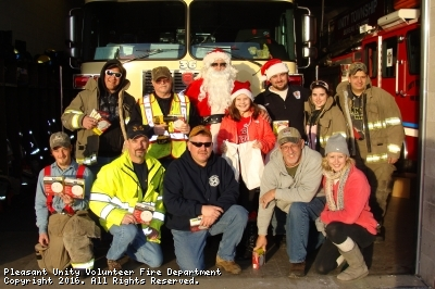 Annual Christmas Rounds With Santa on the Firetruck