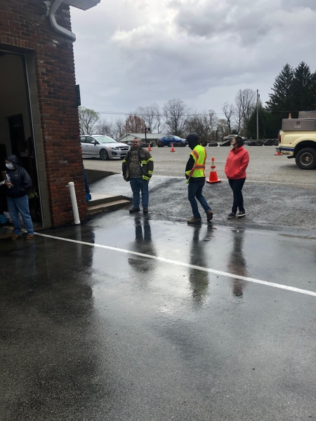 PUVFD Helps With Pleasant Unity Food Bank Changes