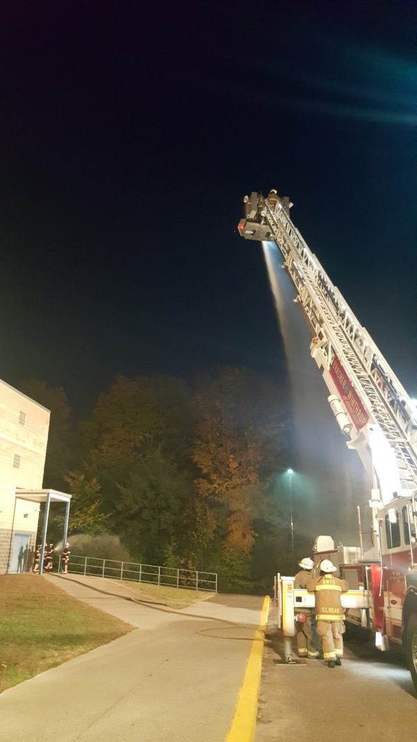 Training with Brasher Winthrop Fire