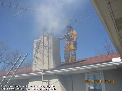 Chimney Fire in the Township