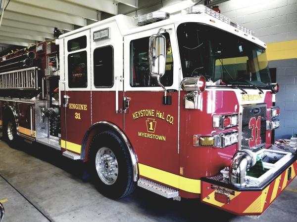 New 2019 Pierce Engine in Service