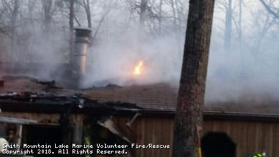 Structure Fire - Oak Park Drive