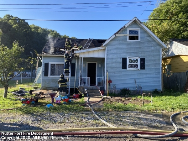 Mutual Aid House Fire