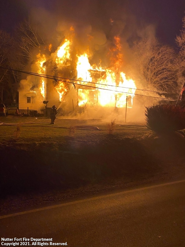 Fully Involved Structure Fire