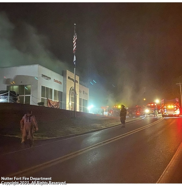 First Due Commercial Fire