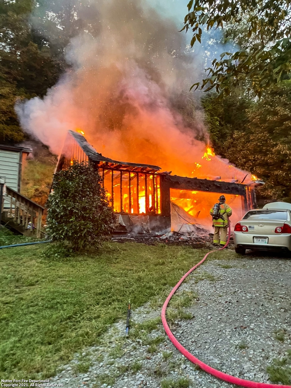Evening Mutual Aid Fire