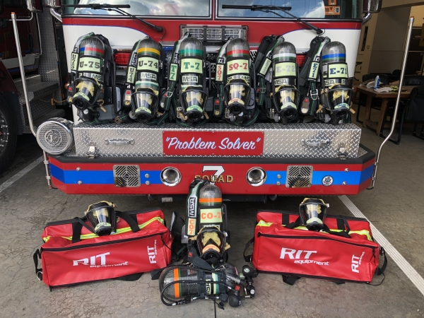 New MSA G1 SCBAs Placed In Service