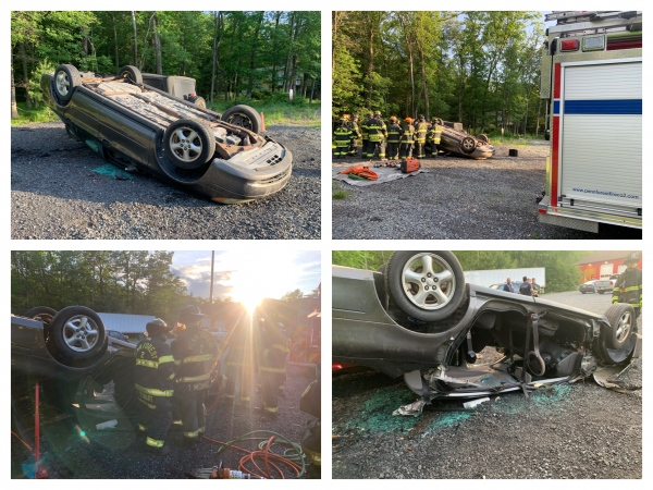 Drills Continue with Vehicle Extrication Training