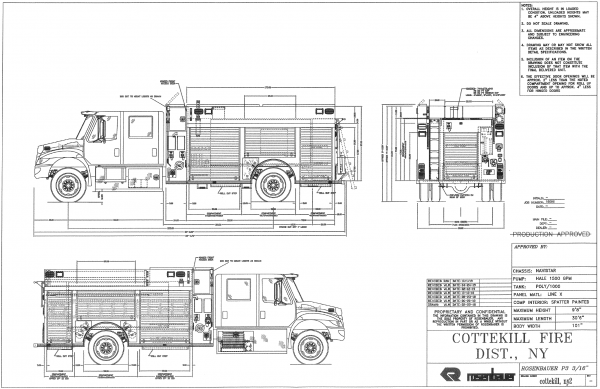 Cottekill Orders New Fire Engine