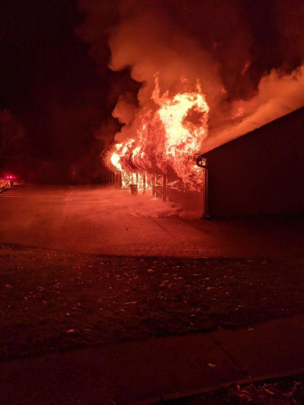 Fast Response Saves Multiple Buildings During Early Morning Fire