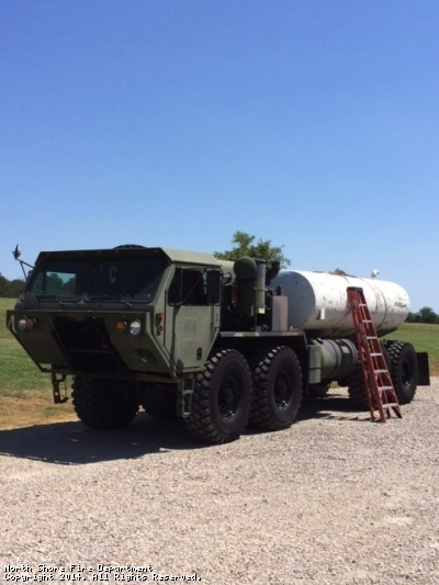 we have the tank mounted down and ready for a test drive