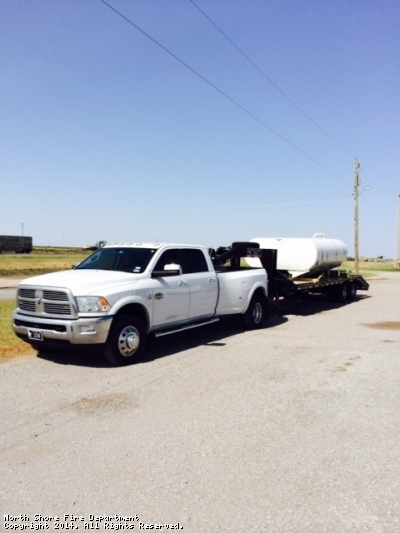 this is the day we drove to Oklahoma to pick up the tank