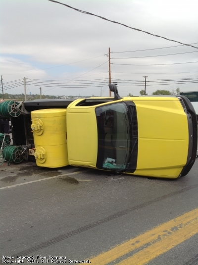 accident with roll over