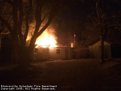 Structure Fire-Shady Hollow