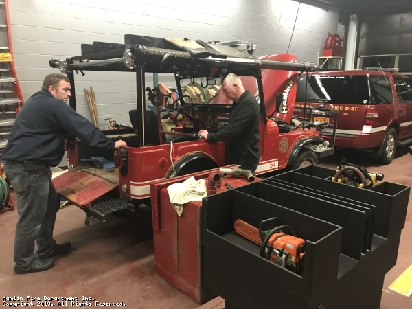 Grass Fire Jeep 247 Winter 2018-19 Renovations and Upgrades