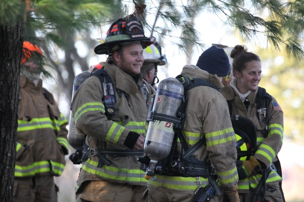 Training burn 11-2-2019