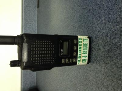 ICOM F3 VHF Portable