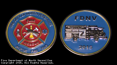 Front: F.D.N.V. Patch Logo