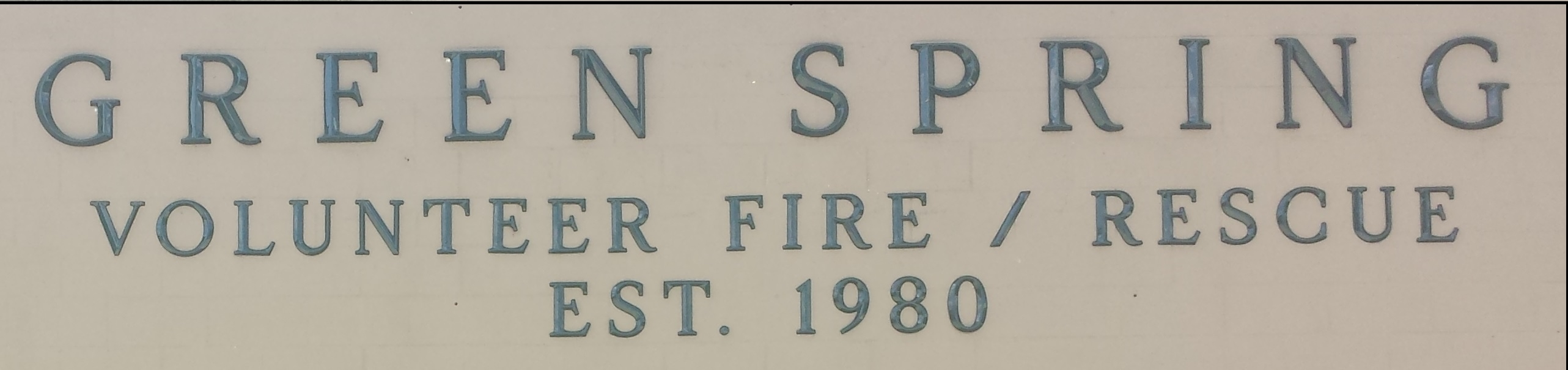 Green Spring Vol. Fire Department Inc.