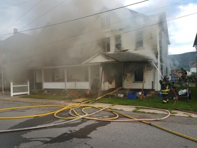 Rescue Responds to 3rd Alarm Structure Fire in Williamsport
