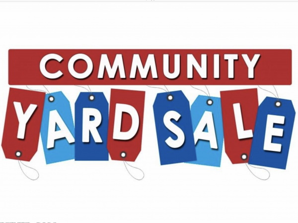 Yard Sale - June 8th from  7 am to 1 pm
