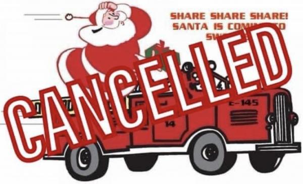 Santa Run Canceled
