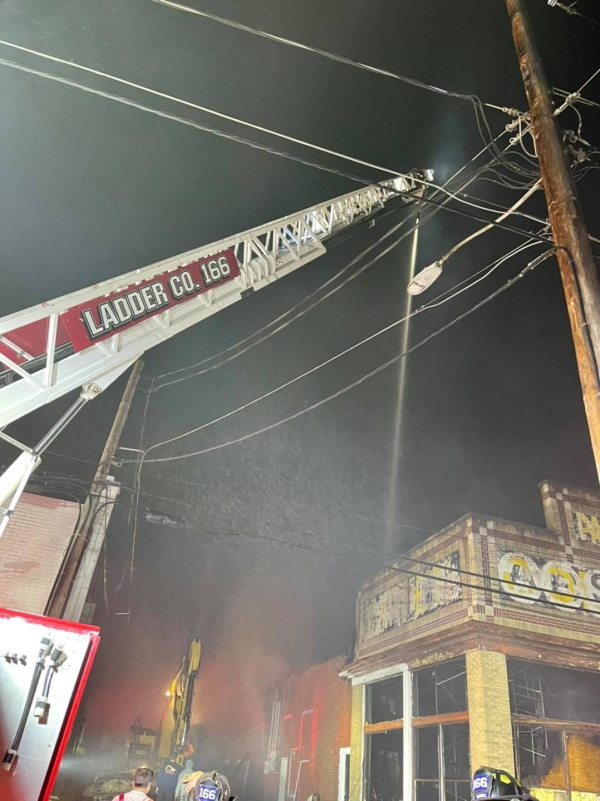 Commercial Fire In The City