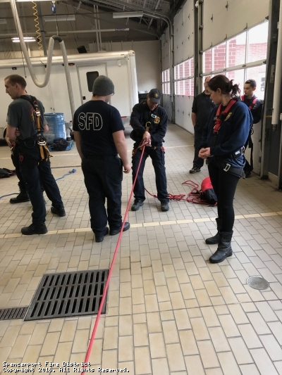 Monroe County Rescue Technician Basic Class Hosted at Spencerport