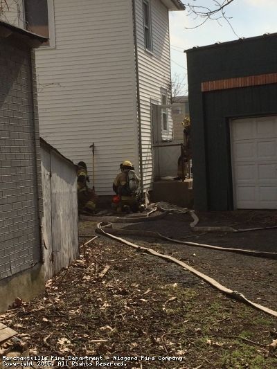 Friday April 17th, 2015 fire department personnel conducted an Engine and Ladder company operations drill in a dwelling that the department had acquired. These training evolutions are to reinforce and strengthen members skills.
