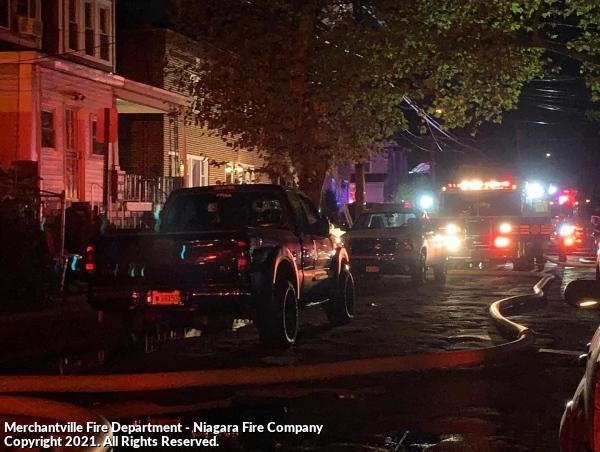 Working dwelling fire in Camden