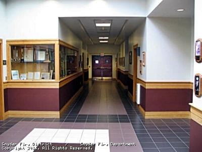 Rear entrance hallway