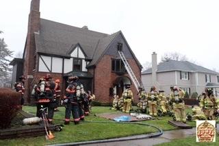Bedroom Fire, Saturday April 4, 2020