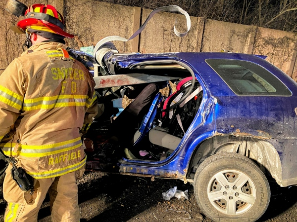 Extensive Extrication Required on Youngman Highway Crash