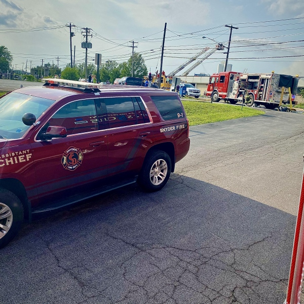 FAST to Cheektowaga for Multiple Alarm Commercial Fire