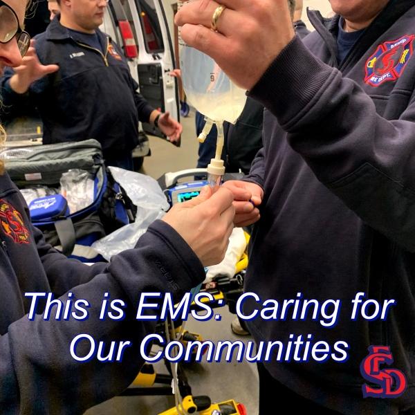 Snyder Fire Celebrates 2021 National EMS Week