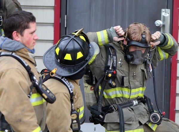 Firefighter Cacciotti Completes NYS Firefighter 1