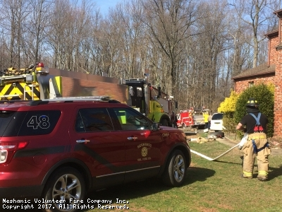 Dispatch for Brush Fire