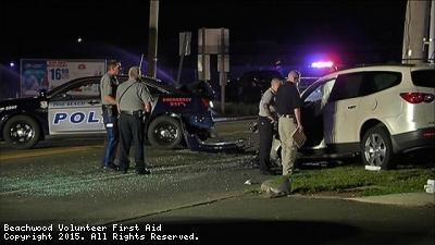 Motor Vehicle Accident RT 9 Pine Beach