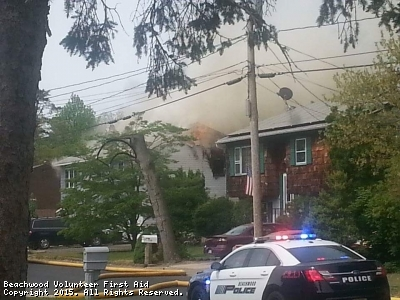 Structure Fire Anchor Ave