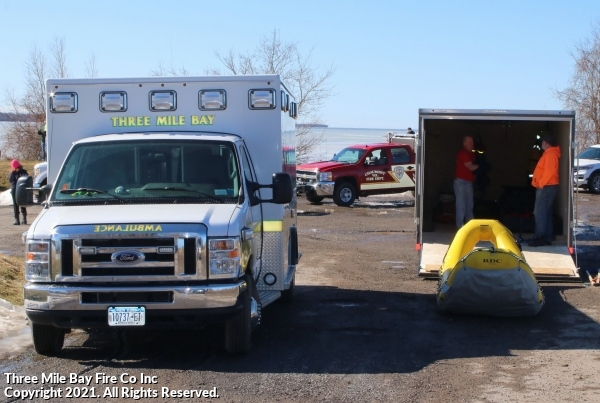 Ice Rescue State Boat Launch