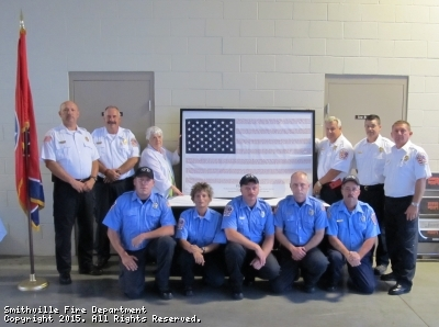 Hero Flag presented by the Woodsman of the World