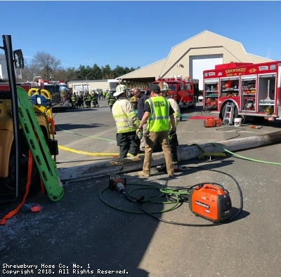 Mass Casualty Incident Drill
