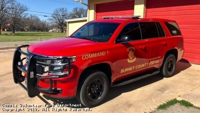 New Command SUV placed in service