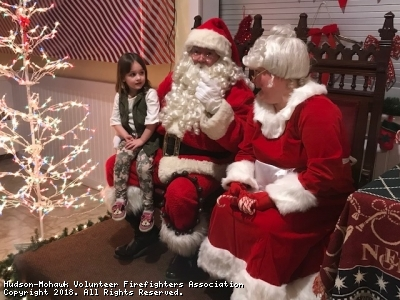 Meeting with Santa and Mrs.Claus!