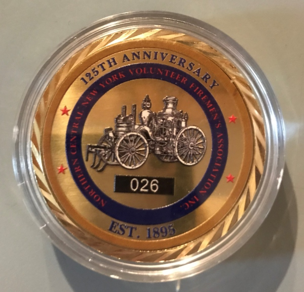 NCNYVFA Offers Challenge Coins for $10 donation