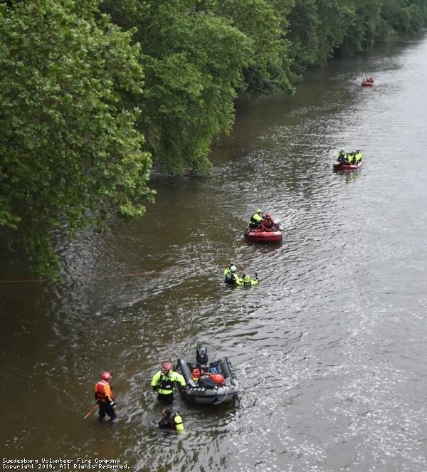 Schuylkill River Water Rescue