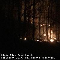Brush Fire Chambers Mtn