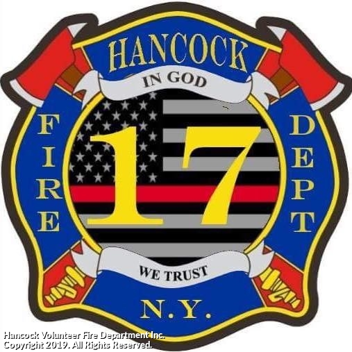 Hancock Fire Department receives grant from the New York State DEC